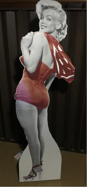 マリリンモンロー等身大パネルポスター ビンテージ グッズの画像