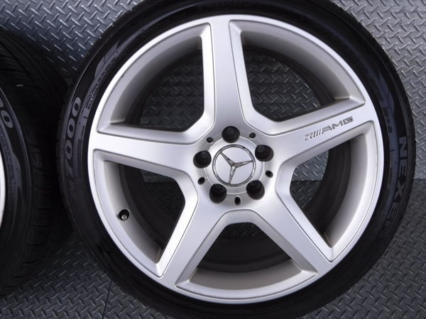 ベンツ純正 W211 Eクラス AMG スタイリング 3 Ⅲ 18インチ 9J +39 5穴 PCD112 リア 2本_画像2