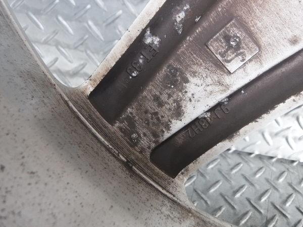 ベンツ純正 W211 Eクラス AMG スタイリング 3 Ⅲ 18インチ 9J +39 5穴 PCD112 リア 2本_画像9