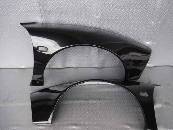マルガヒルズ NA1 NSX エアロ フロント オーバーフェンダー 30mmワイド 即納 ブラック_画像1
