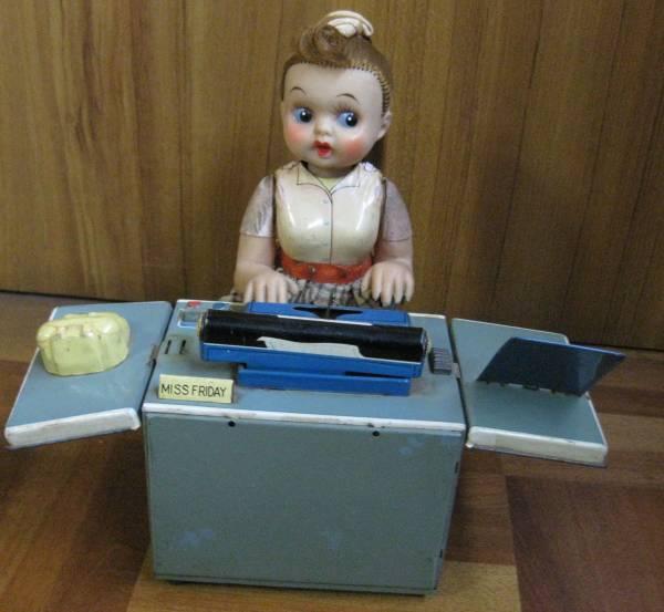 MISS FRIDAY ミスフライデー 野村トーイ ブリキおもちゃ 1950年代