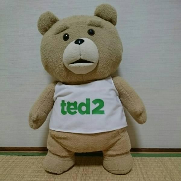 新品ted2テッド2タンクトップぬいぐるみXLプレミアム55cm!BIG! グッズの画像