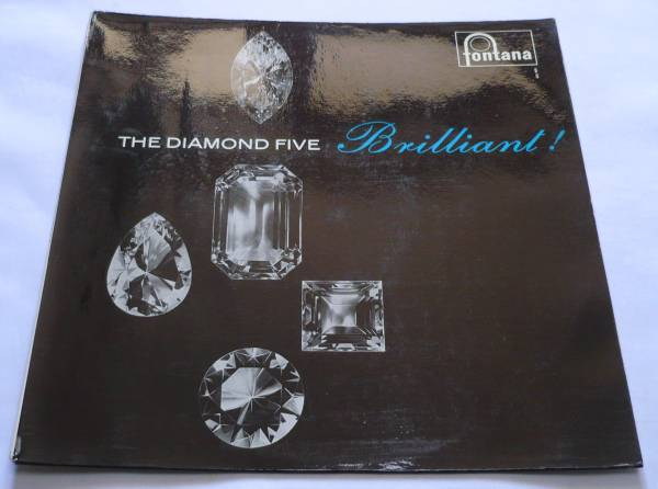 即決 The Diamond Five/Brilliant/蘭Fonatana 680 520 TL original 極美盤 試聴