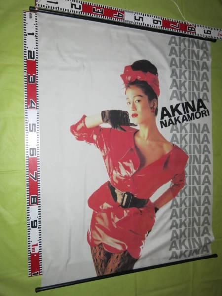 S284中森明菜タペストリー 赤ドレス サイズ約120*90センチ ケン企画  ライブグッズの画像
