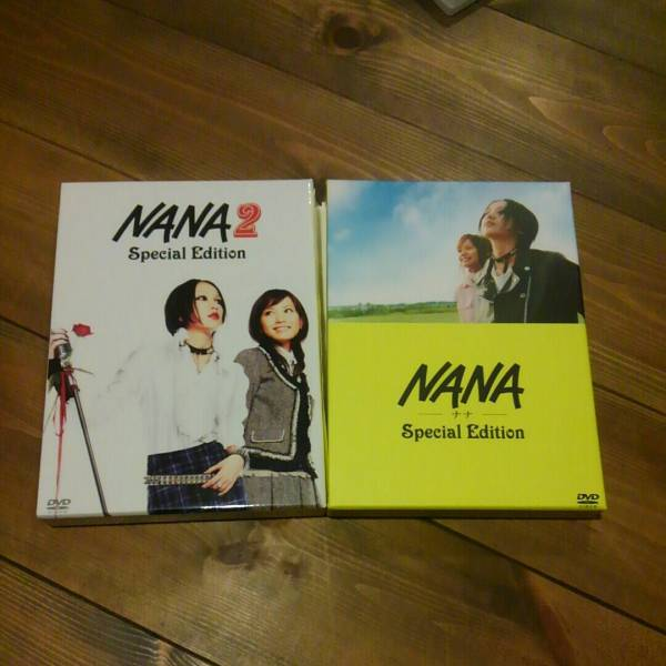 美品 NANA 1&2 Special Edition DVD 中島美嘉 市川由衣 宮崎あおい 成宮寛貴 グッズの画像
