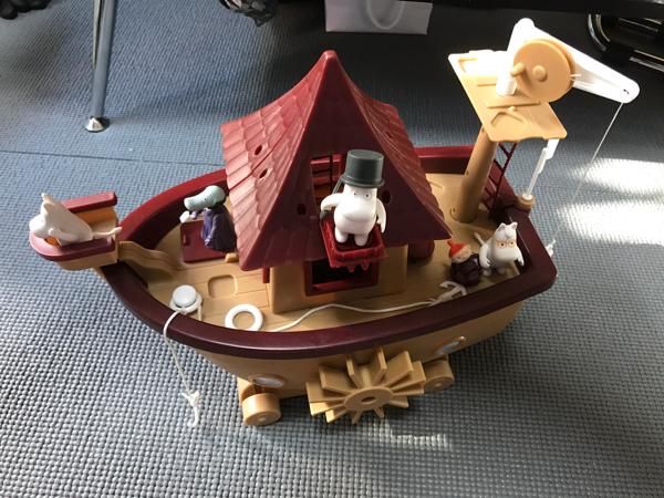 ムーミン ボートハウス グッズの画像