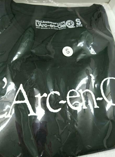 L'Arc~en~Ciel 【会場限定旧ロゴTシャツ】東京ドーム★25thラニバーサリー★Sサイズ