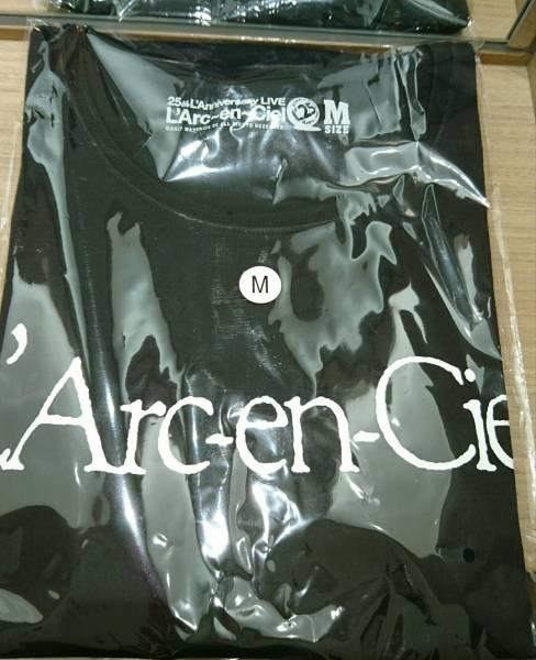 L'Arc~en~Ciel 【会場限定旧ロゴTシャツ】東京ドーム★25thラニバーサリー★Mサイズ
