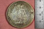 中国 清朝 1912年 ブリタニア立像 1ドル 銀貨 英国貿易銭