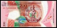 バヌアツ 紙幣 ポリマー  ピン札