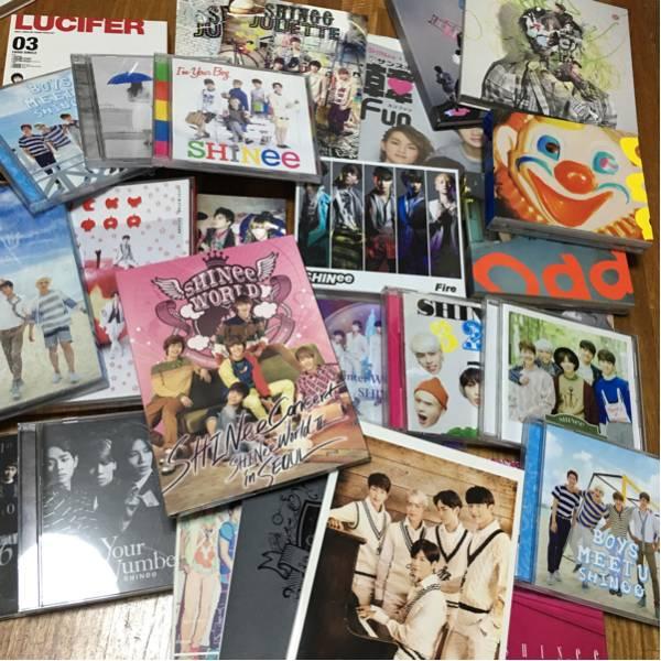 SHINee CD DVD アルバム シングル 25点 大量セット ライブグッズの画像