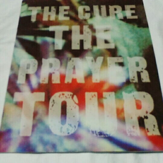 the cure ザ・キュアー the prayer tour パンフレット キズあり検/ロバート・スミス ロバスミ バンシーズ