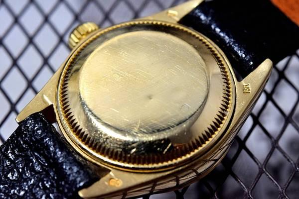 18k金無垢★ROLEXロレックスDATEJUSTデイトジャストRef.6917 Cal.2030搭載 自動巻 腕時計 レディース_画像3