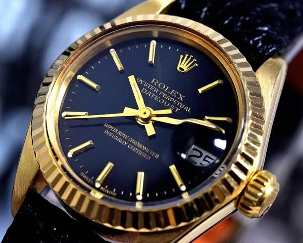 18k金無垢★ROLEXロレックスDATEJUSTデイトジャストRef.6917 Cal.2030搭載 自動巻 腕時計 レディース