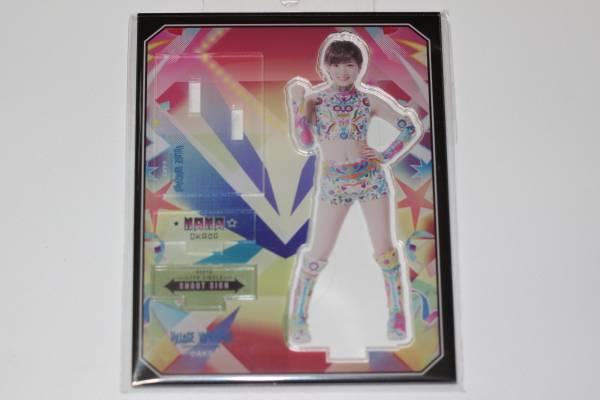 AKB48 岡田奈々 シュートサイン 豆腐プロレス ヴィレッジヴァンガード アクリルスタンド 新品