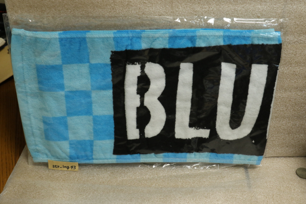 新品 BLUE ENCOUNT マフラータオル 青 グッズ ブルエン