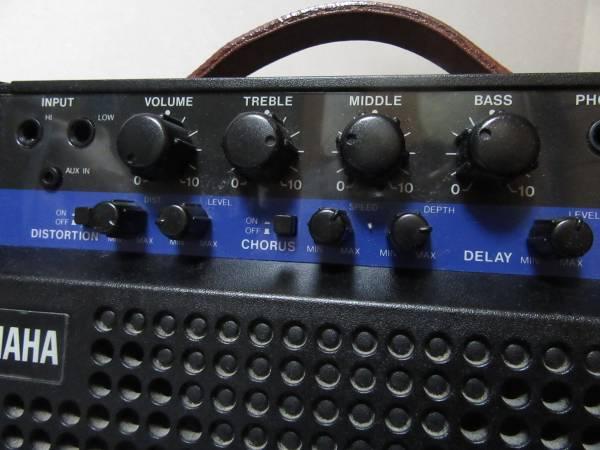 名機 YAMAHA ポータブル ギターアンプ VA-10 エフェクト内臓 電池駆動