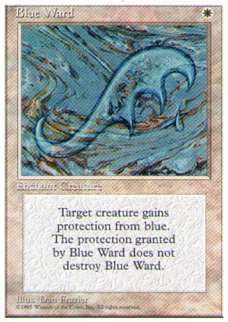 010150-002 4E/4ED 青の護法印/Blue Ward 英4枚