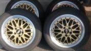 BBS LM イエローゴールド 17in × 7j 4本セット