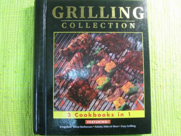 洋書アメリカ製グリル料理のレシピ本 GRILLING COLLECTION♪