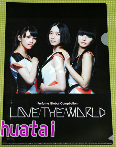 Perfume パフューム Perfume Global Compilation LOVE THE WORLD 宣伝用クリアファイル