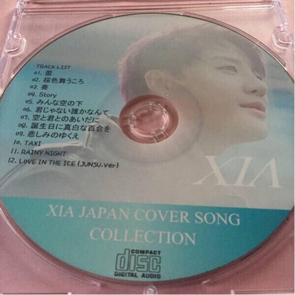 JYJジュンスXIAカバーSONGCD全12曲(o^^o)