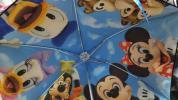 新品未使用!ディズニーリゾートにて購入 実写シリーズ ミッキー ミニー ドナルド デージー グーフィー他、晴雨兼用 折りたたみ傘 日傘