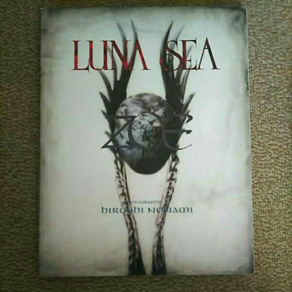 LUNA SEA写真集 ZOE 上巻 ライブグッズの画像