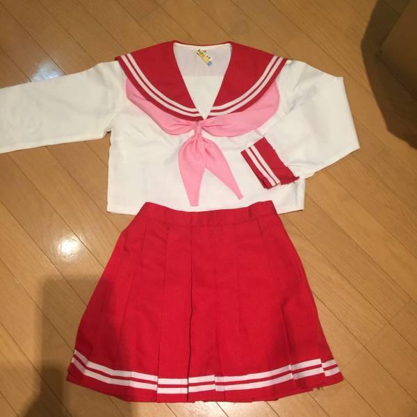 らき☆すた コスプレ衣装 冬服 セーラー服 Mサイズ グッズの画像
