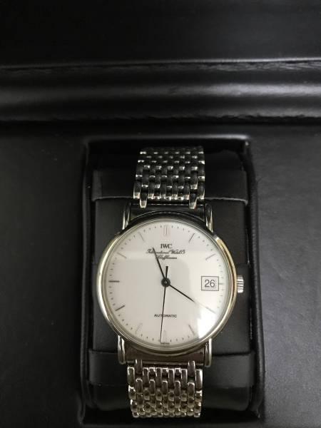 ・(美品)IWC 3513 ポートフィノ メンズ腕時計 自動巻 中古