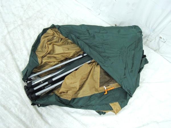 ジャンク Coleman 170T13050J SWIFT PITCH DOME /270 キャンプ Y2360265_画像3