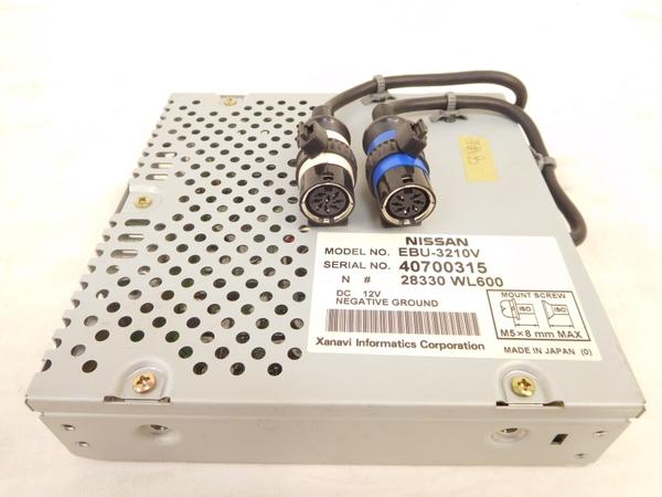 ジャンク 日産 純正 ナビ コンピュータ EBU-3210V NISSAN M2407353_画像1
