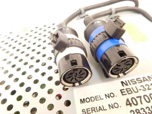ジャンク 日産 純正 ナビ コンピュータ EBU-3210V NISSAN M2407353_画像2