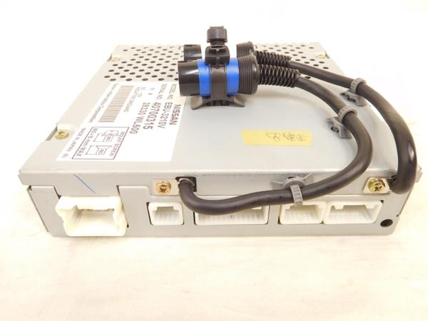 ジャンク 日産 純正 ナビ コンピュータ EBU-3210V NISSAN M2407353_画像4