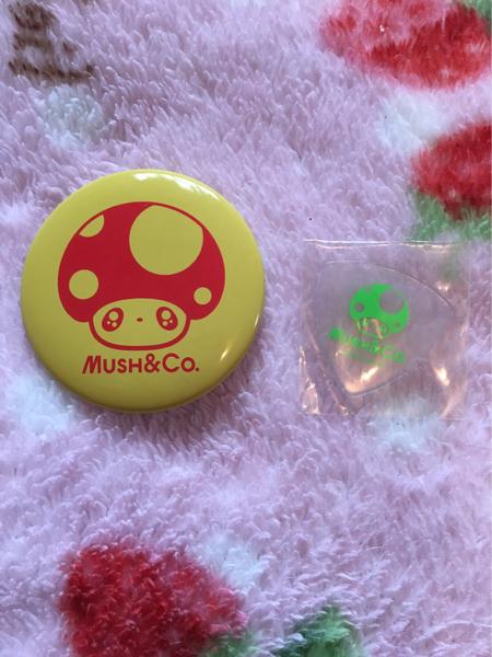 MUSH&Co. ピック 缶バッチ 大原櫻子 吉沢亮 カノ嘘 非売品 グッズの画像