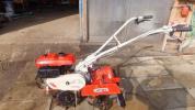 ネギ管理機 小型シバウラ モノ楽340 使えます ジャンク品 3.4馬力