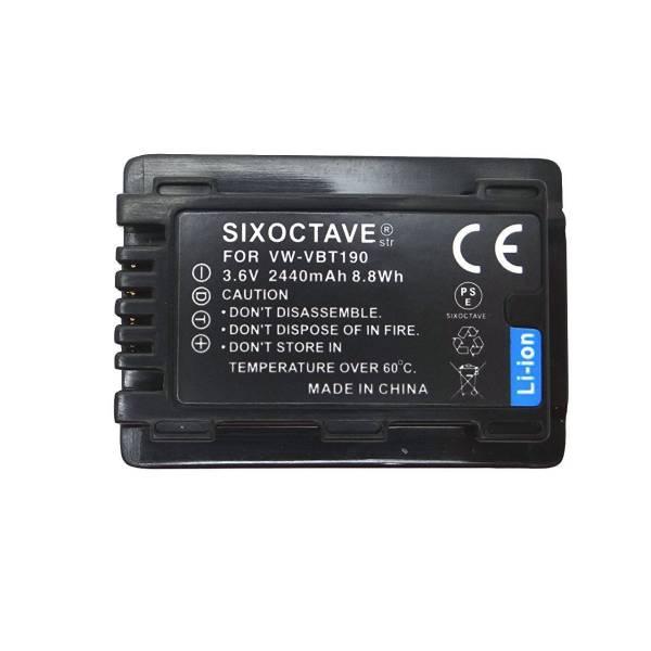 【保証有】PanasonicパナソニックVW-VBT190/VW-VBT190-K互換バッテリー2個セットHC-V550M / HC-V620M / HC-V720M / HC-V750M / HC-VX980M_画像2