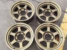 売り切り RAYS VOLK RACING TE37X ブロンズ 16×8J +0 139.7/6H 4本セット ランクル80 プラド サーフ レイズ ボルクレーシング