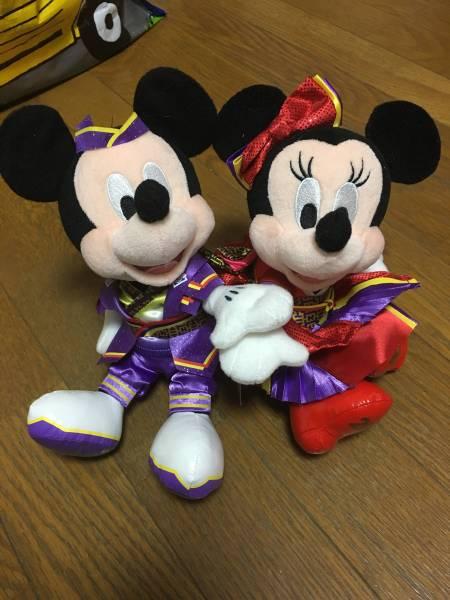 2014年 ディズニー夏祭り ミッキー ミニー ペアぬいぐるみ 雅涼 群舞 ディズニーグッズの画像
