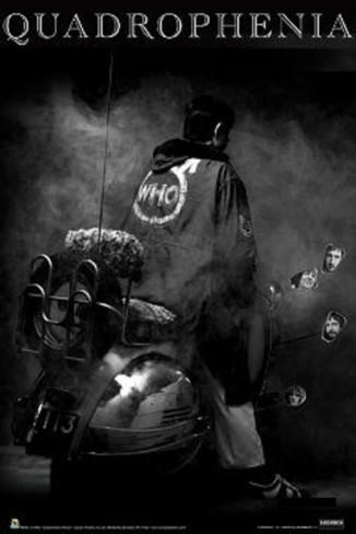 The Who Quadrophenia 海外限定特大ポスター 日本未発売 91cm x 61cm 四重人格 キースムーン mods punk インテリア モッズ