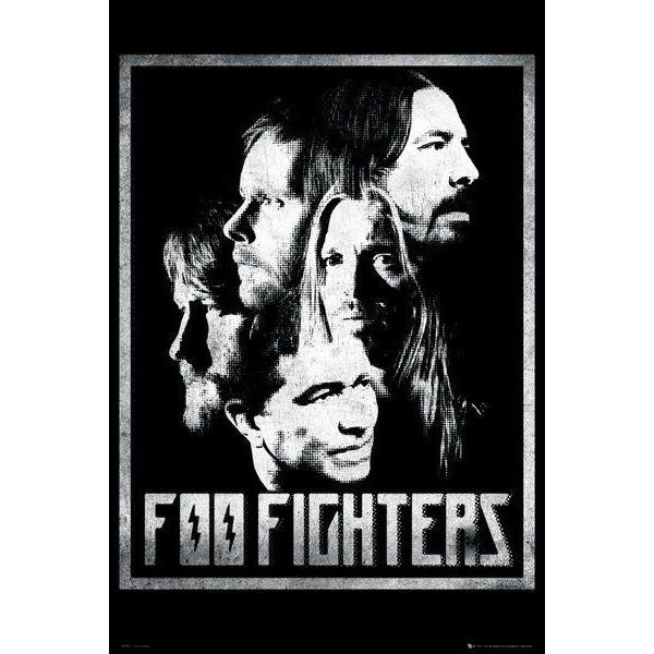 FOO FIGHTERS 海外限定復刻特大ポスター 正規品 日本未発売 nirvana ナンバーナイン フーファイターズ インテリア
