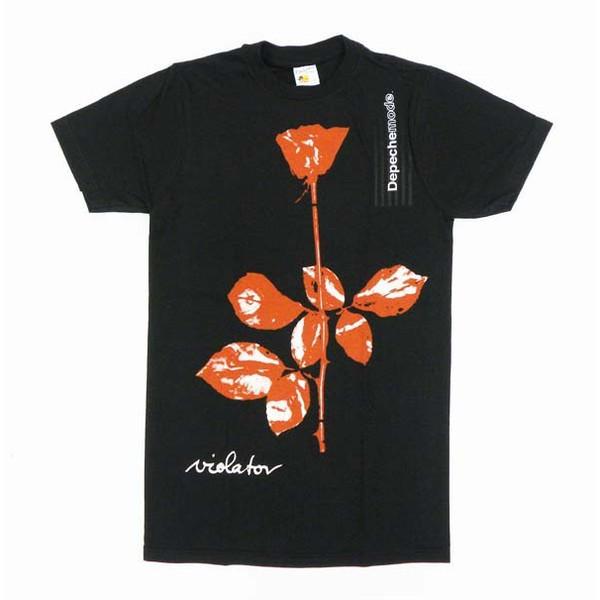 DEPECHE MODE 海外限定Tシャツ 正規品 日本未発売 new wave テクノ post punk シンセ エレクトロ オルタナ 激レア デペッシュモード