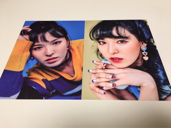 Red Velvet ウェンディ ポストカード ROOKIE 公式 グッズ カード SUM COEX