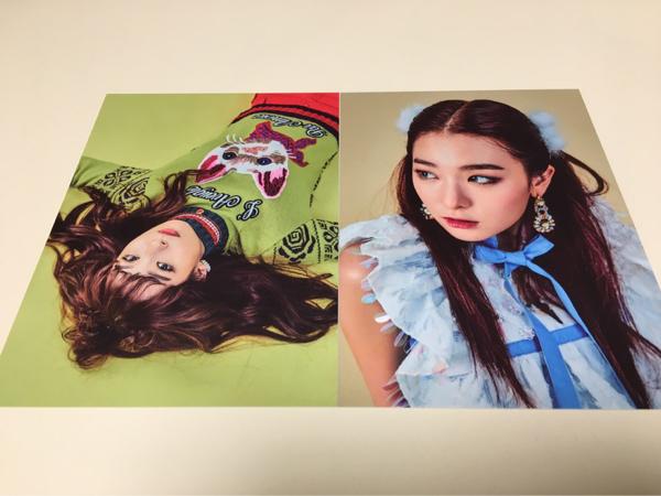 Red Velvet スルギ ポストカード ROOKIE 公式 グッズ カード SUM COEX