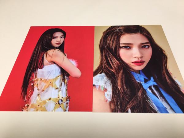 Red Velvet ジョイ ポストカード ROOKIE 公式 グッズ カード SUM COEX