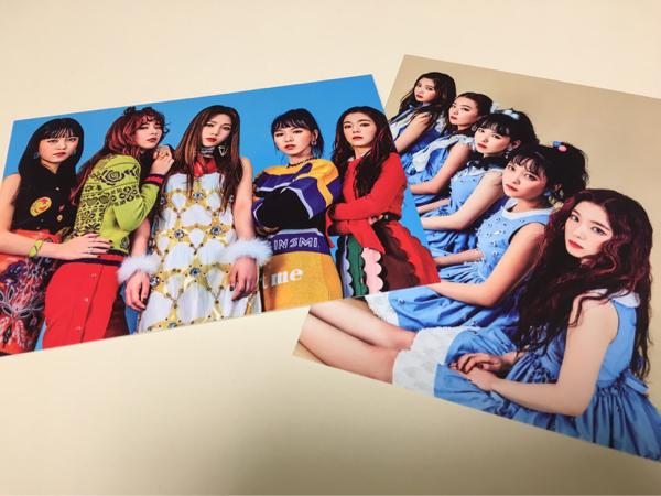 Red Velvet 全員 アイリーン スルギ ウェンディ ジョイ イェリ ポストカード ROOKIE 公式 グッズ カード SUM COEX ポスカ