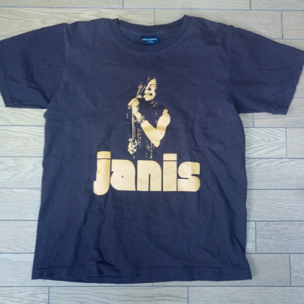 ジャニス ジョプリン Tシャツ S  茶色