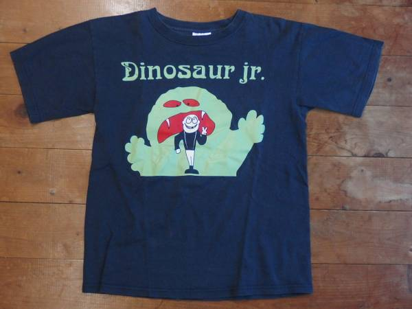 古着 Dinosaur jr. ダイナソーjr Tシャツ L(14-16) なす紺 subpop