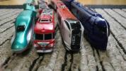 プラレールアドバンス車両「名鉄パノラマカー」「南海ラピート」「成田エクスプレス」「はやぶさ」 おまけつき