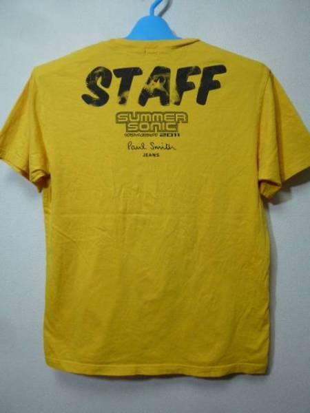 非売品!ポールスミスxサマーソニック2011 STAFF用Tシャツ(サマソニスタッフSUMMER SONIC)